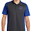 Thumbnail: Panthers Coach Adult Micropique Polo