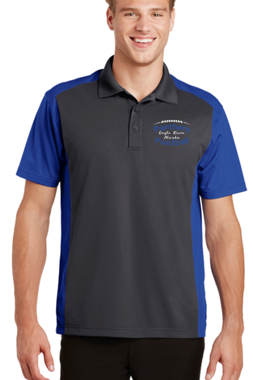 Panthers Coach Adult Micropique Polo