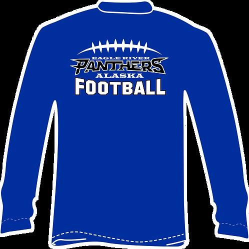 Panther Football Long Sleeve TShirt