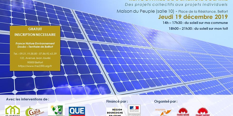 Rencontre de l'énergie solaire