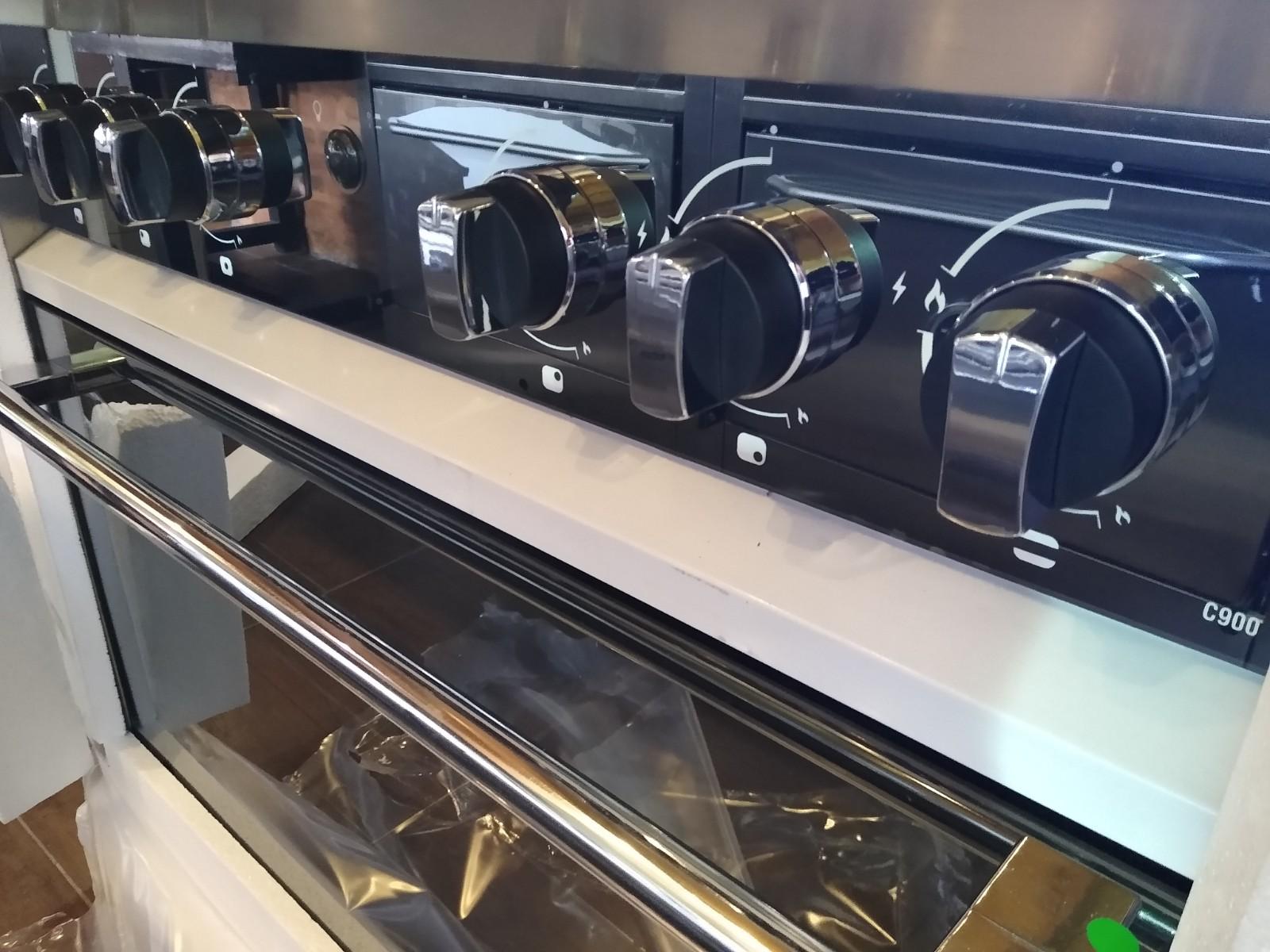 Cocina industrial Morelli Zafira 900 Moderna familiar Visor