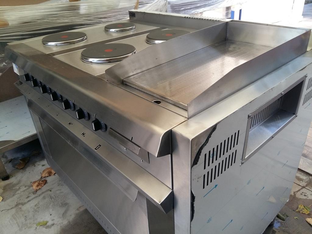 Cocina industrial zona oeste eléctrica para restaurantes y gastronomía