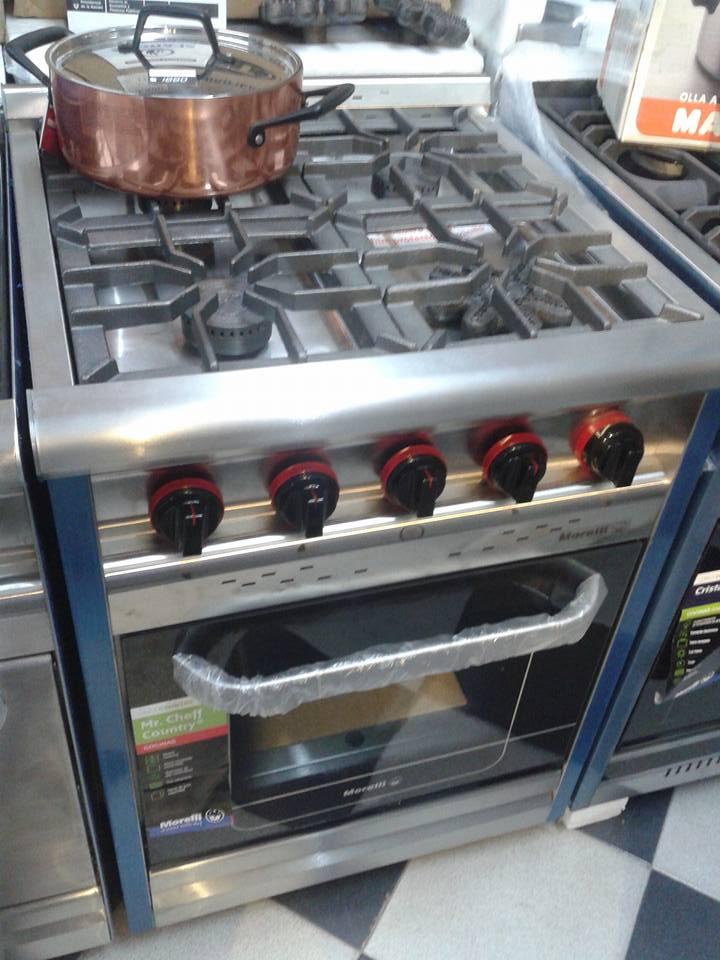 Cocina Morelli 60 centimetros puerta visor country
