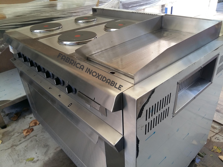 Cocinas y hornos electricos trifasicos FABRICA INOXIDABLE