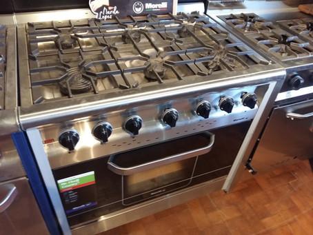Cocina industrial morelli country chef 90 cm oferta para tu casa