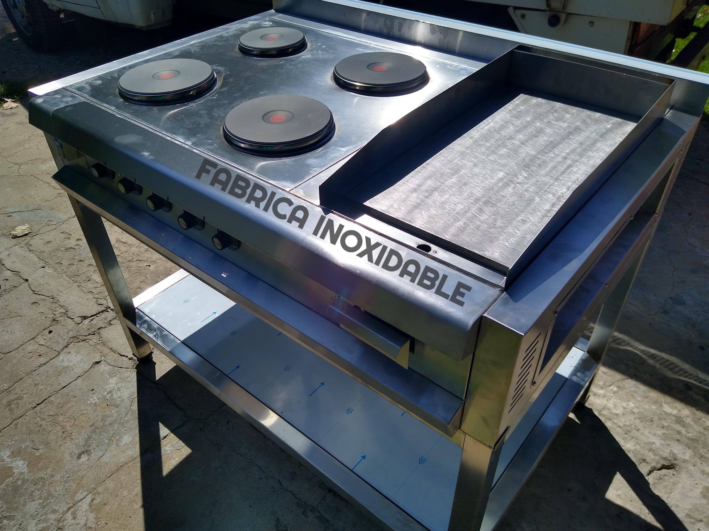 Anafe industrial electrico trifasico discos consumo plancha