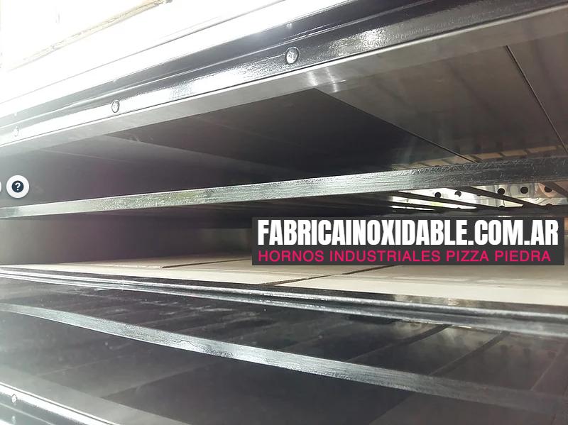Hornos pizzeros panaderos pasteleros refractarios pizza a la piedra Ituzaingo Buenos Aires
