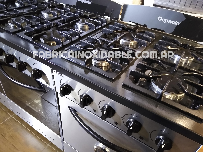 Cocinas industriales Ituzaingo Depaolo FABRICA INOXIDABLE horno pizzero inoxidable