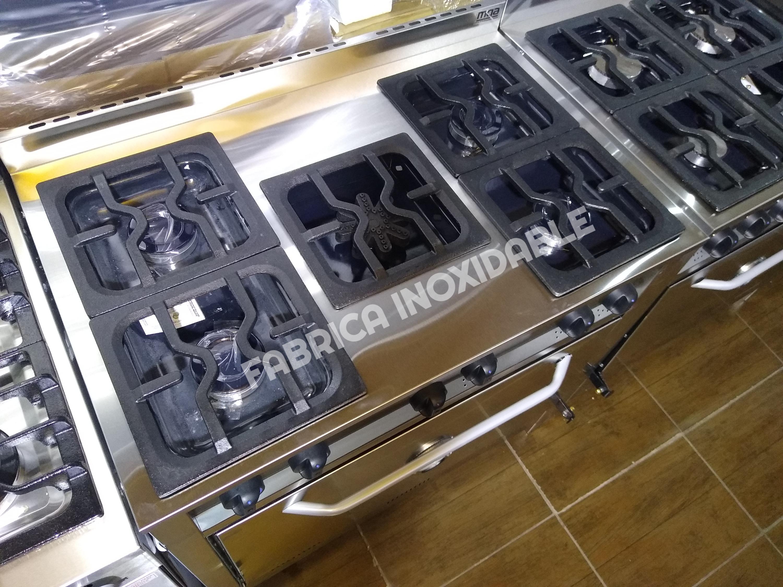 Horno cocina industrial moderna quincho multiple piedras refractarias