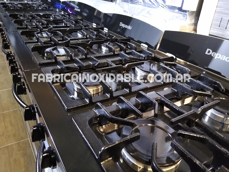Fábrica inoxidable cocinas industriales modernas fundicion depaolo envios a todo el pais