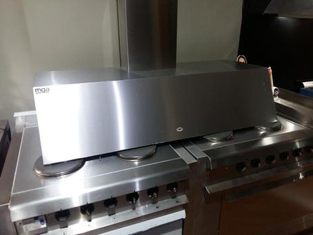 Campana acero inoxidable tst chaltén 120 cm para cocina industrial