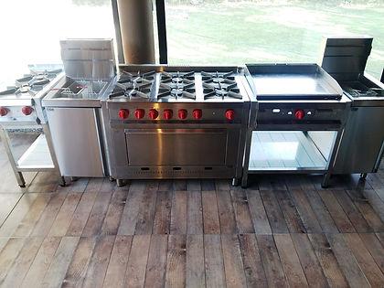 Anafes cocinas planchas freidoras cuccipasta comercial MGA