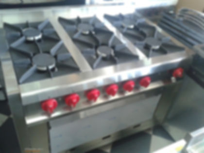 cocina industrial pesada comercial 110 centimetros para alto rendimiento fábrica horno pizzero