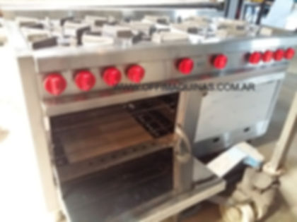 Hornos pizzeros acero inoxidable cocina fabrica fundición hierro envios iterior