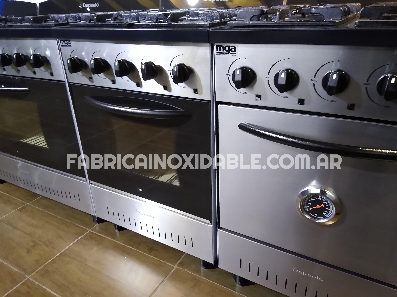 Cocinas puerta visor o acero inoxidable ciega con reloj temperatura termostato