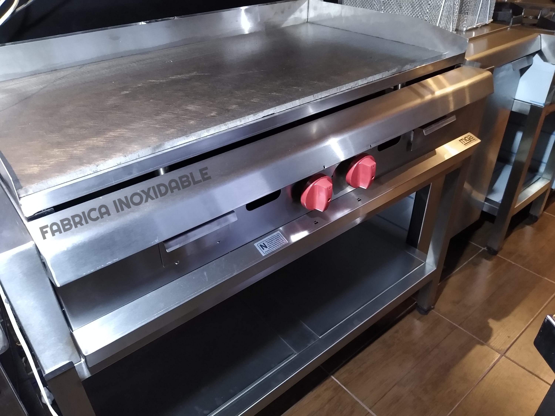 Equipos Burgers plancha anafe industrial acero inoxidable para restaurantes fabrica