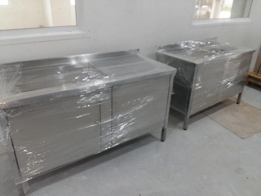 Muebles de acero inoxidable para producción de helados Rapanui - Bariloche