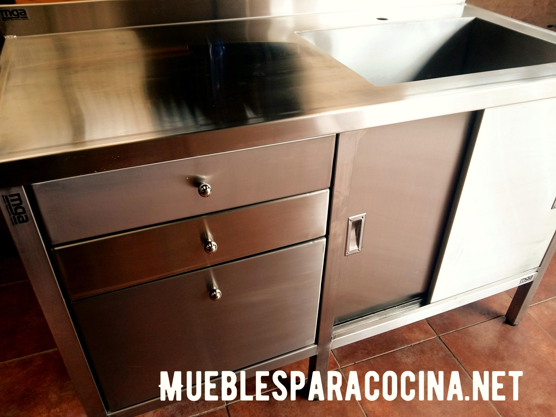 Fábrica de muebles acero inoxidable para gastronomía