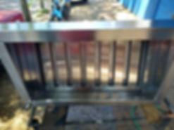 Filtros metalicos lavables grasa acero inoxidable campanas a medida fabrica