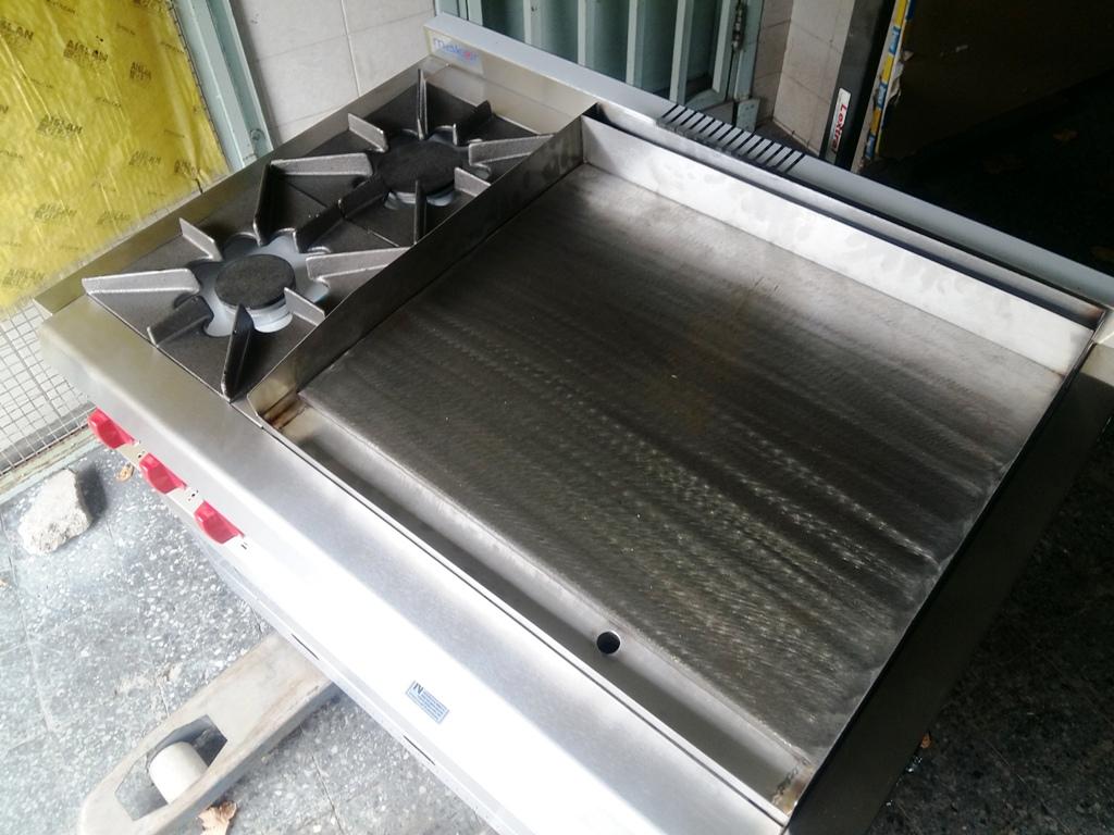 Cocinas plancha industrial acero inoxidable rectificado Ituzaingo fábrica Buenos Aires Geinox