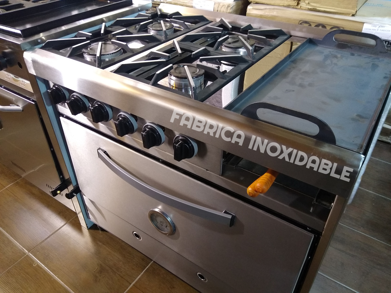 Cocina industrial pinza calitera horno 6 moldes