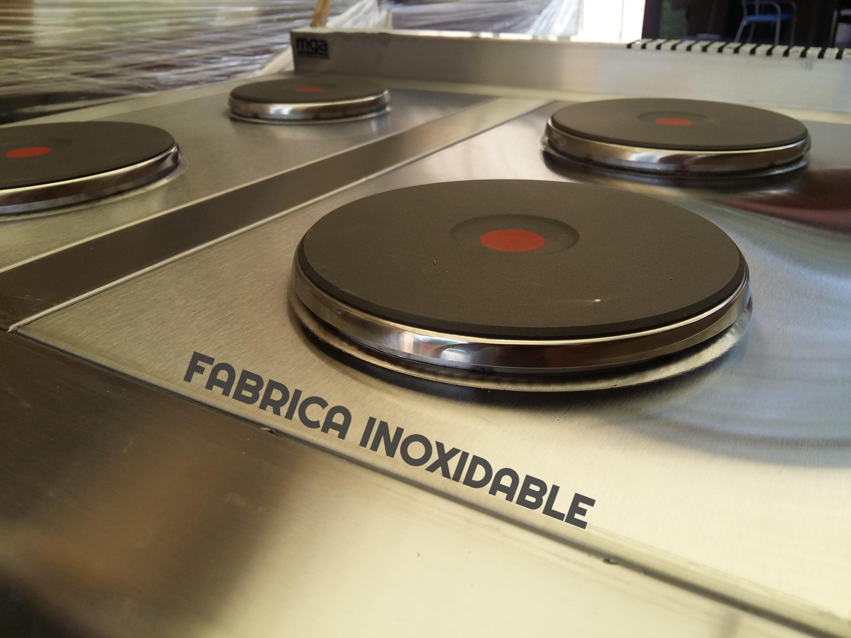 Discos electricos FABRICA INOXIDABLE