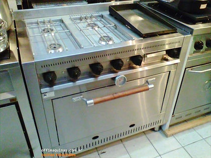 cocinas industriales zona oeste fabrica showroom con plancha bifera 90 centimetros