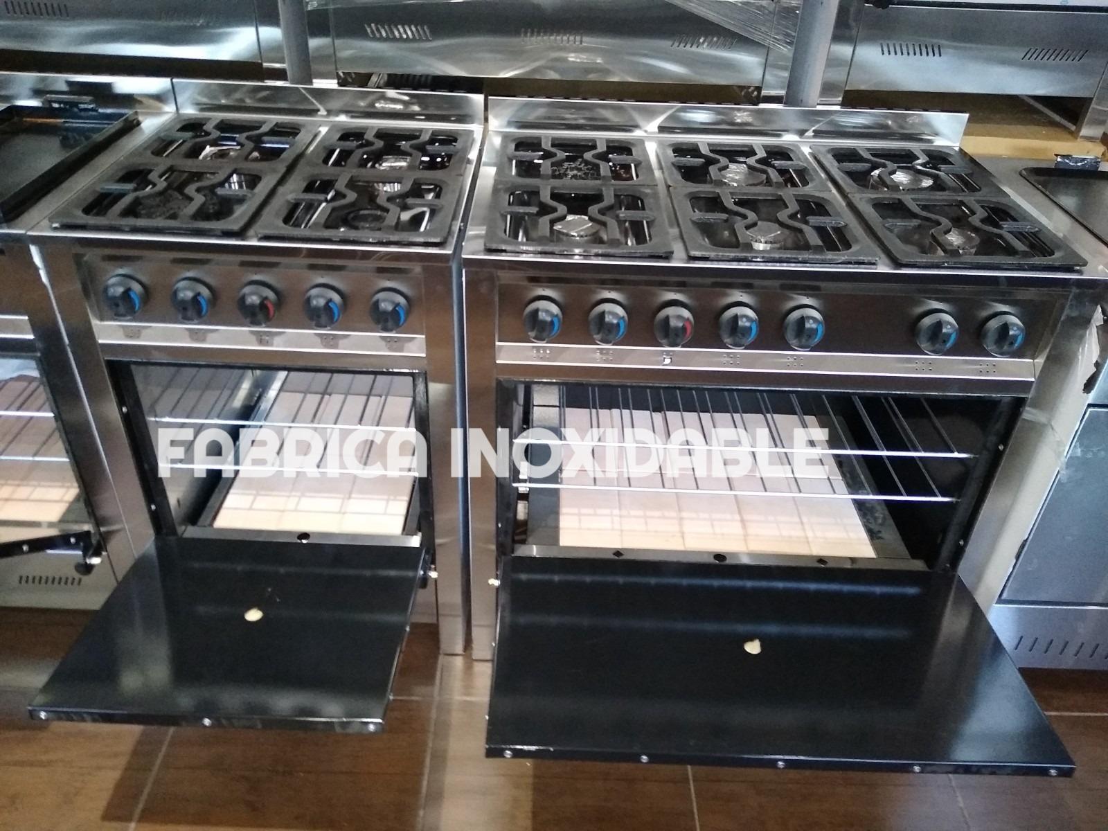 Horno pizzero cocinas industriales modernas FABRICA INOXIDABLE