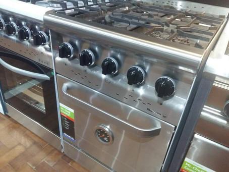 Cocina industrial morelli country puerta de inoxidable 60 cm