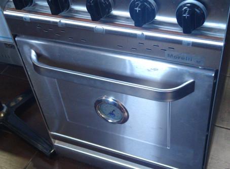 Cocina industrial outlet morelli Forza 550 puerta inoxidable