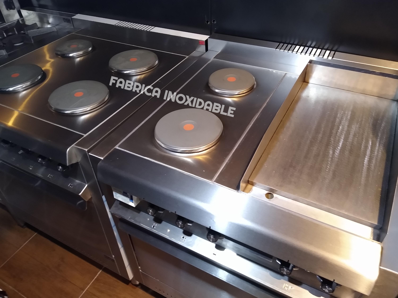 Fábrica de cocinas industriales electricas ituzaingo inoxidable mga