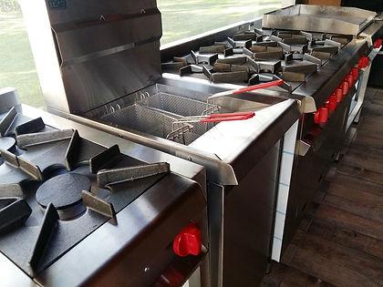 freidora industrial automatica 40 litros canastos inoxidable termostato control de temperatura aceite