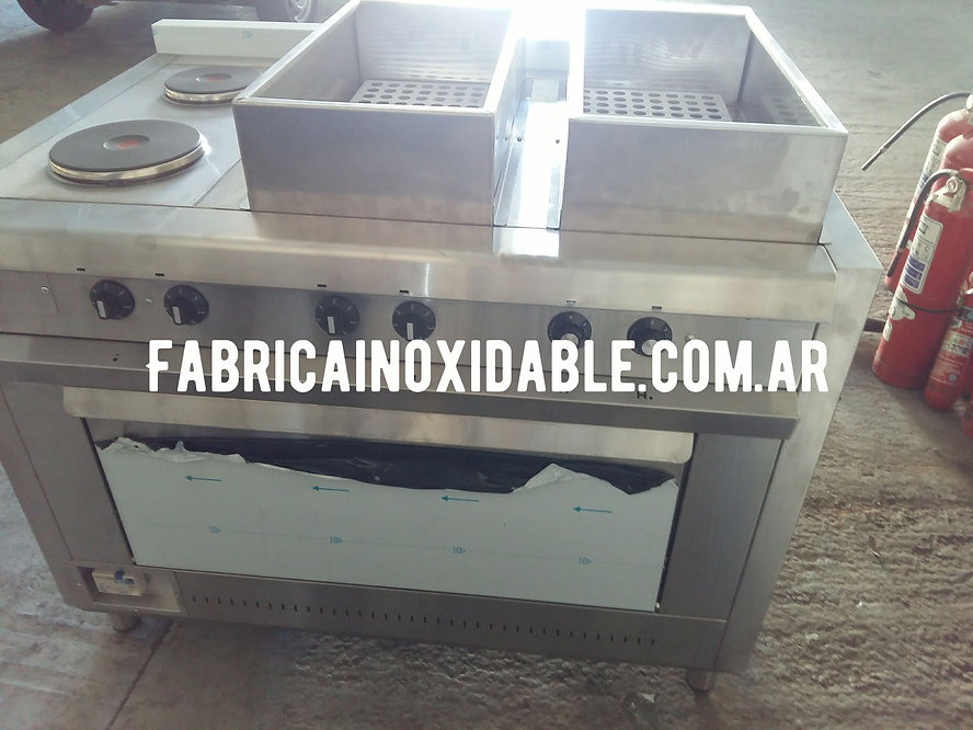Cocinas industriales gastronómicas baño maria plancha bifera discos ego