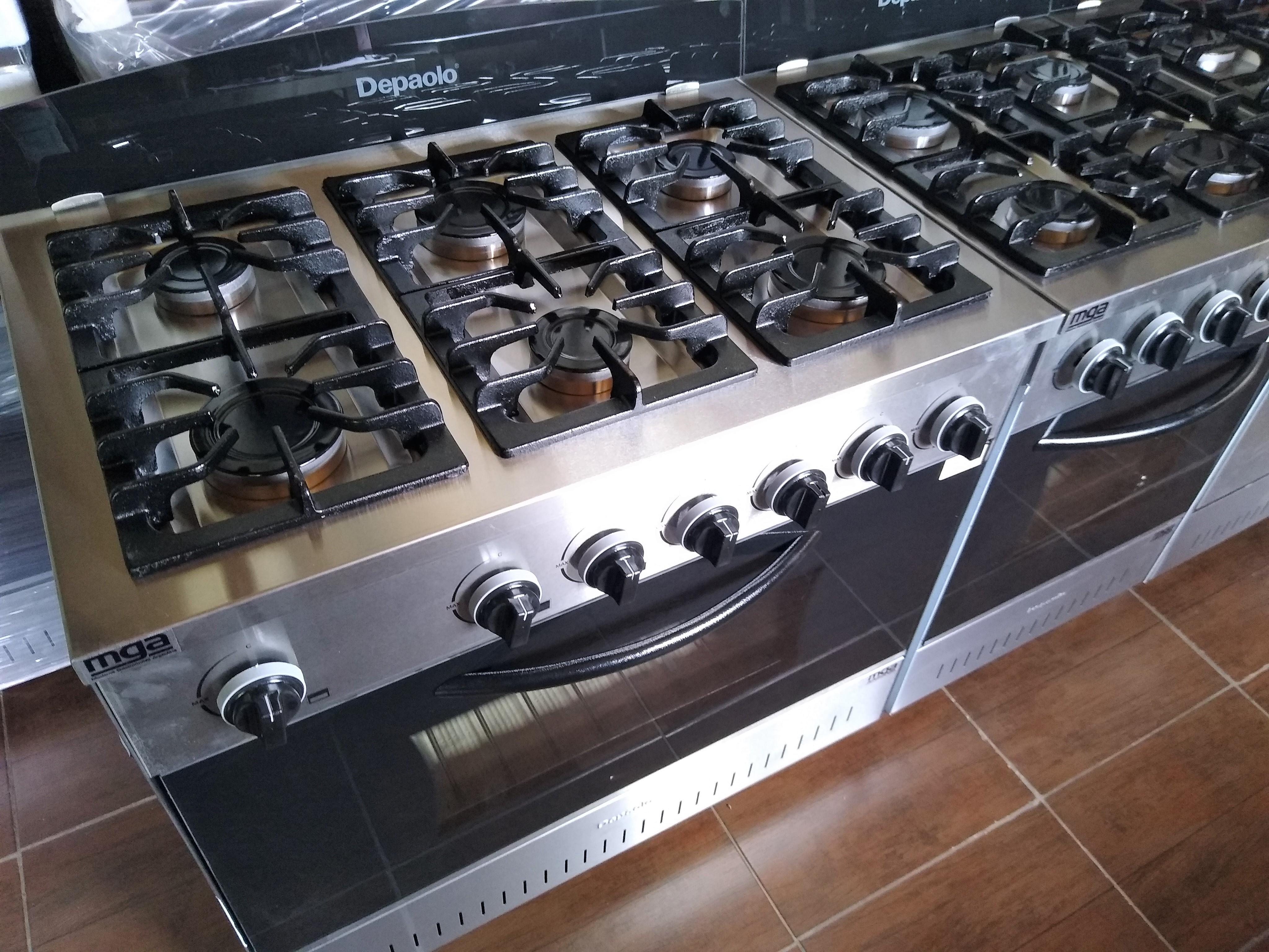 Cocina industrial Depaolo Ituzaingo 6 hornallas