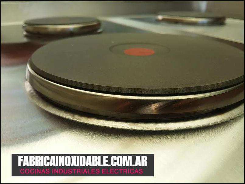 Discos eléctricos industriales para cocina gastronómica fábrica de equipos para restaurantes