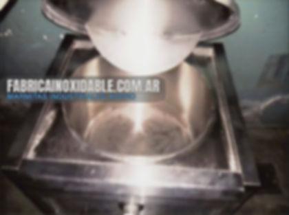 Fábrica de equipos para gastronomía marmitas industriales con mezclador inoxidable