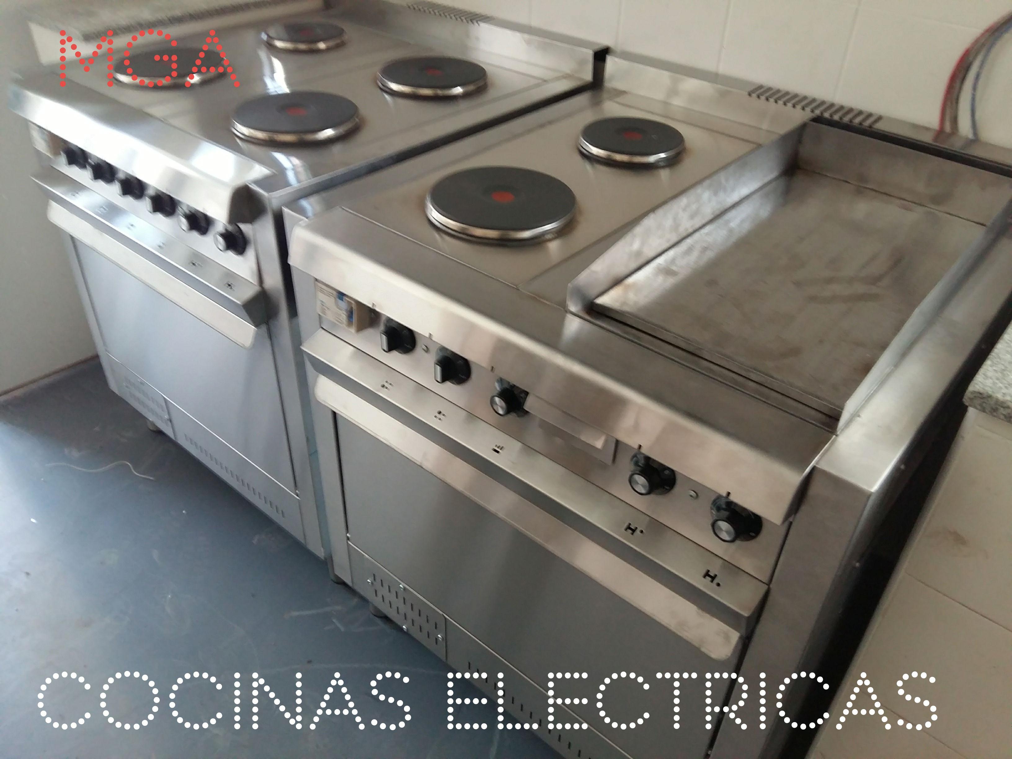 Cocinas eléctricas con horno industriales fábrica modernas Zona oeste - norte - sur Envíos a todo el país