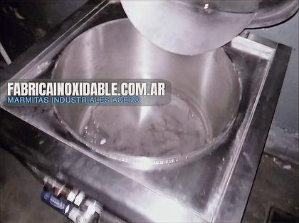 MGA Marmitas industriales gastronomicas olla sopas carnes alimentos