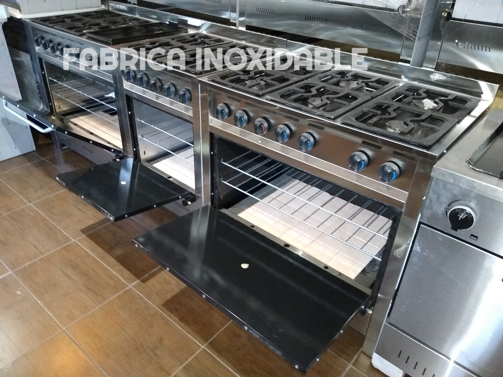 Fábrica de cocinas industriales acero inoxidable ENVIOS A TODO EL PAIS