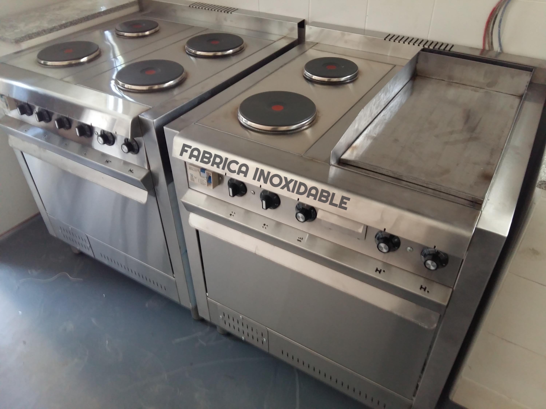 Cocinas industrial 4 discos EGO hot plate fabrica