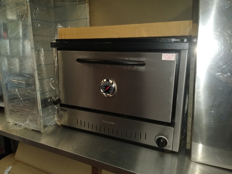 Horno pizzero 6 moldes para tu proyecto emprendimiento gastronómico o quincho. Acero inoxidable.
