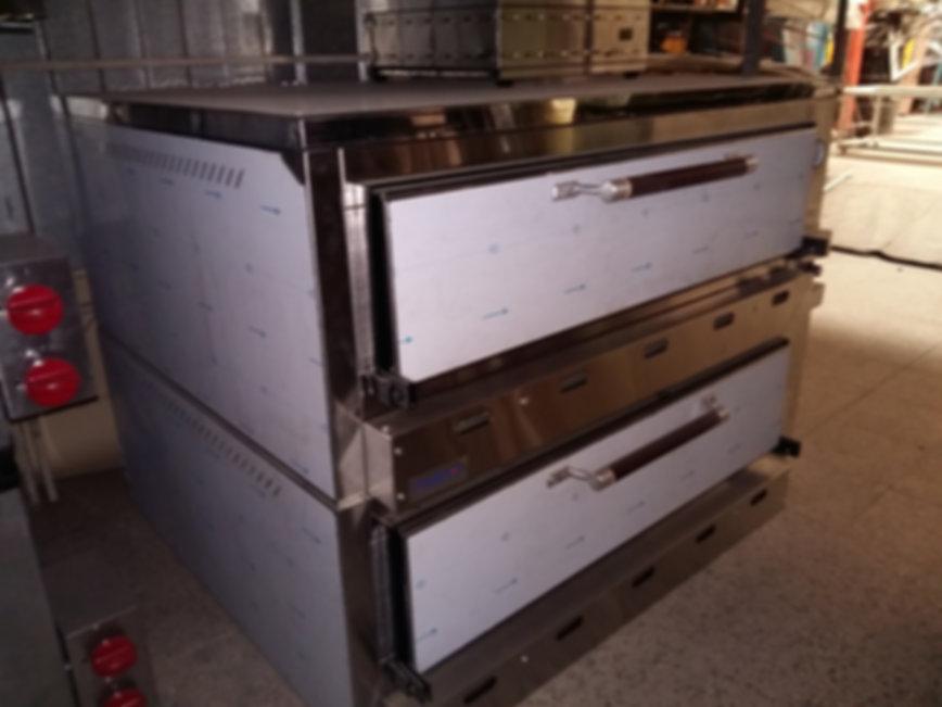 Horno pizzero panadero pastelero fabrica cocinas industriales