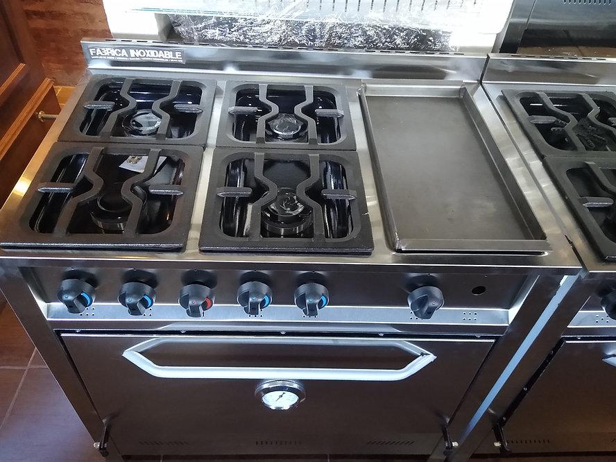 Cocinas industriales con planchetta de hierro bifera lomitos pescados para tu casa o quincho