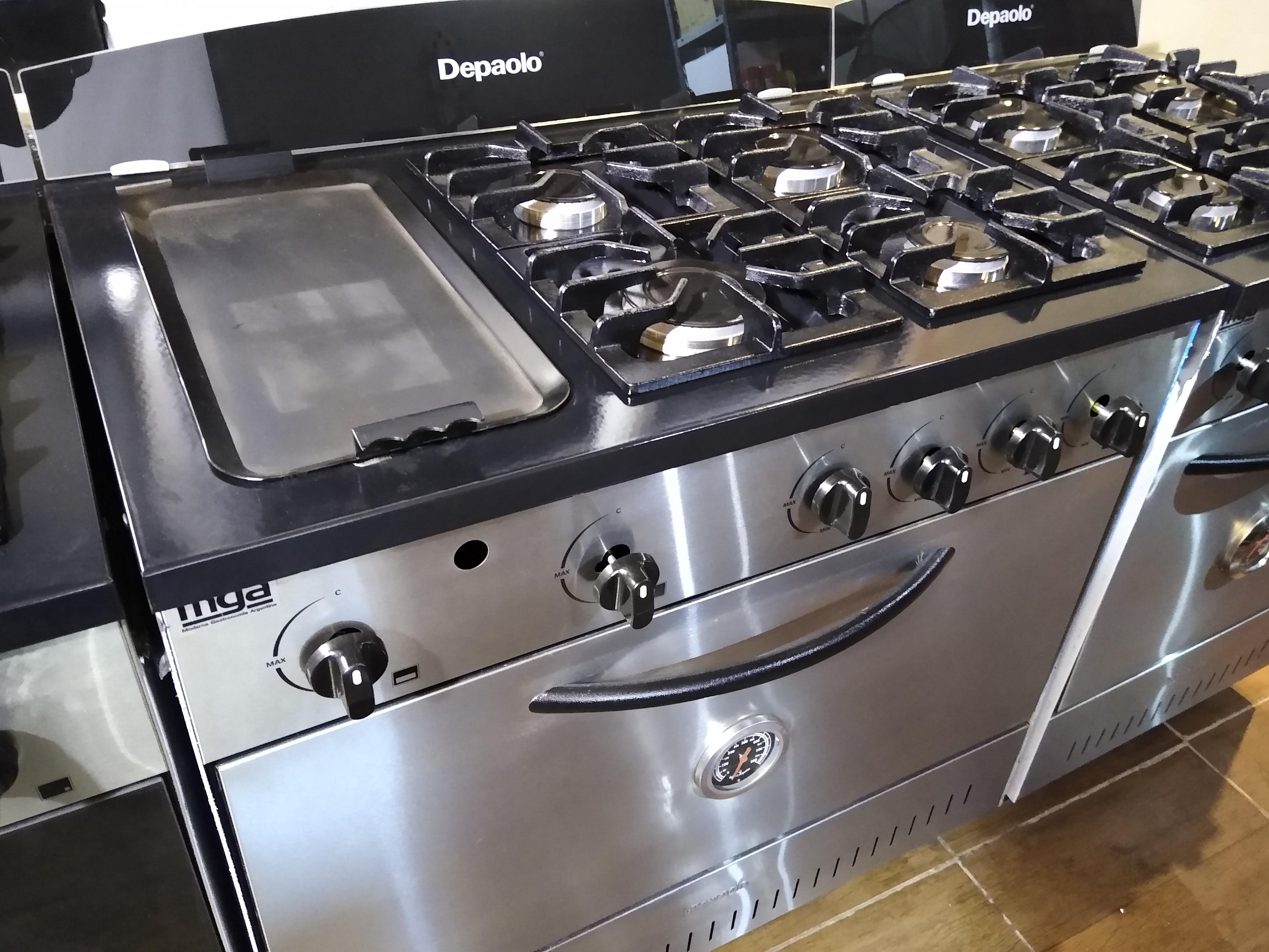 Fábrica de cocinas con plancha haburguesera carlitero inoxidable hornos pizzeros