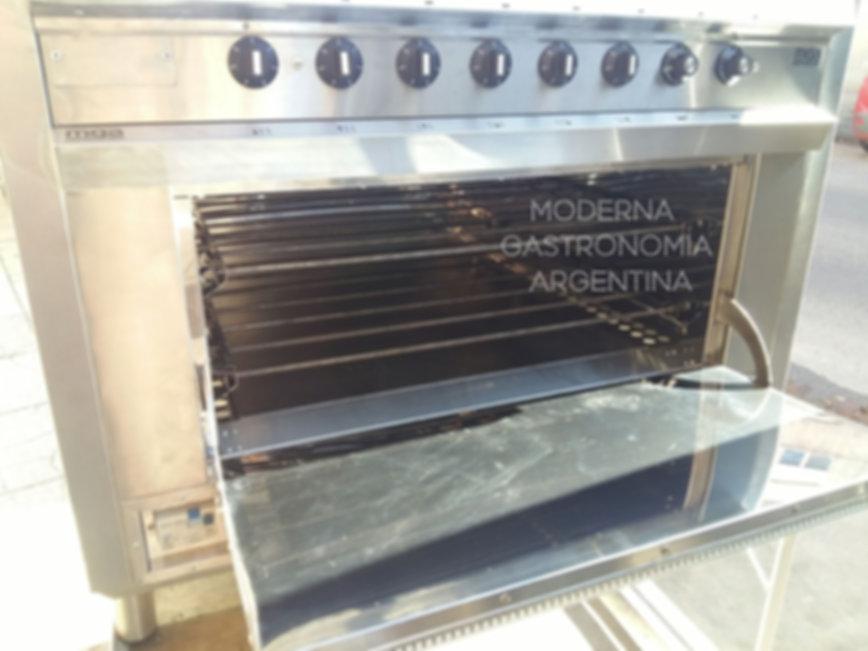 Horno eléctrico industrial acero inoxidable con discos alemanes y resistencias superiores e inferiores - Fábrica MGA