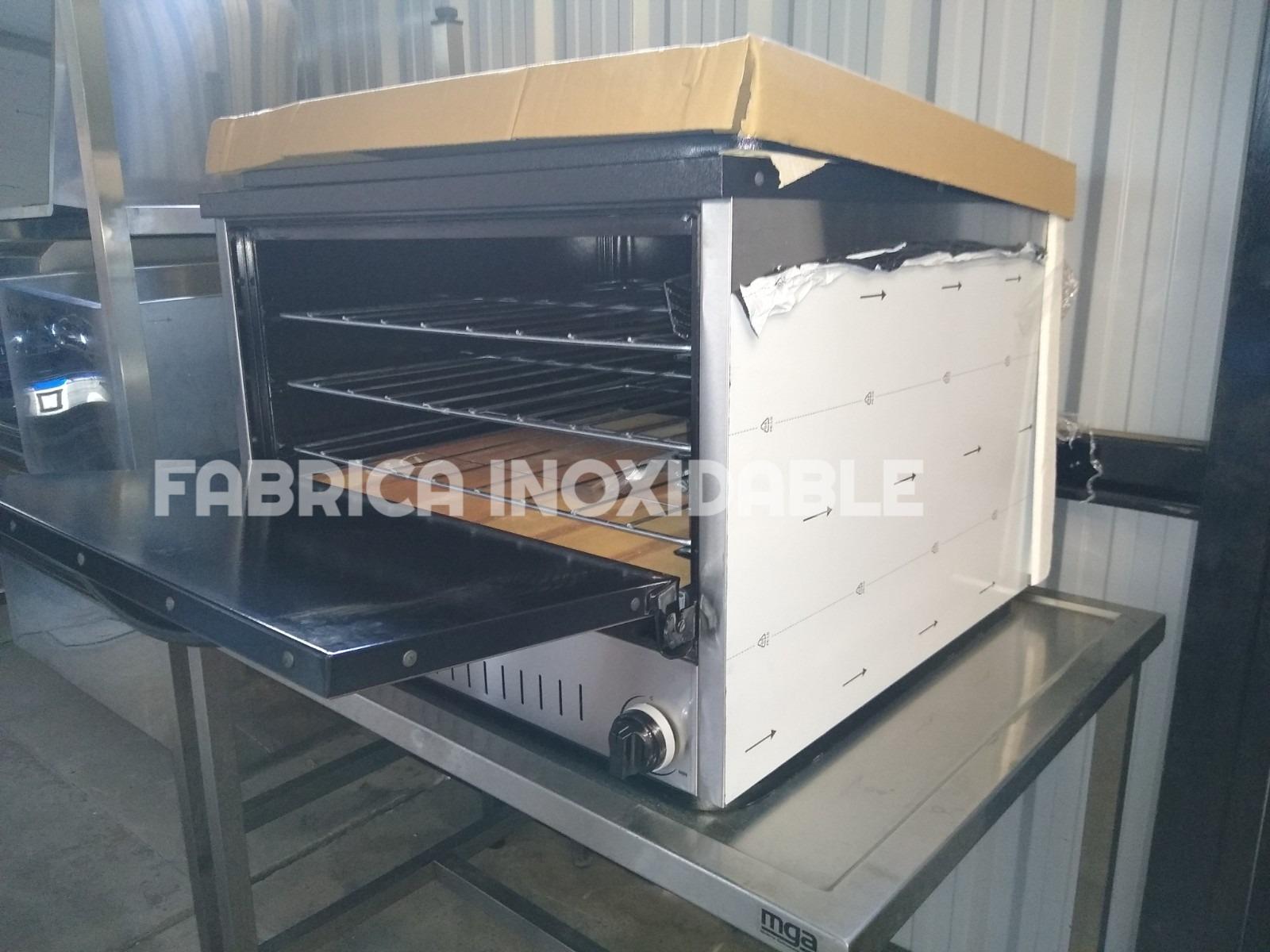 Fábrica de hornos pizzeros depaolo acero inoxidable 12 bandejas moldes