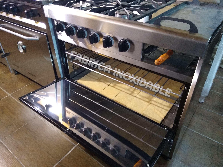 Fábrica de cocinas economicas industriales acero inoxidable carlitera multiple
