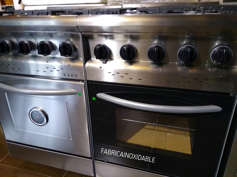 Morelli cocina semi industrial moderna 55 centimetros familiar economica