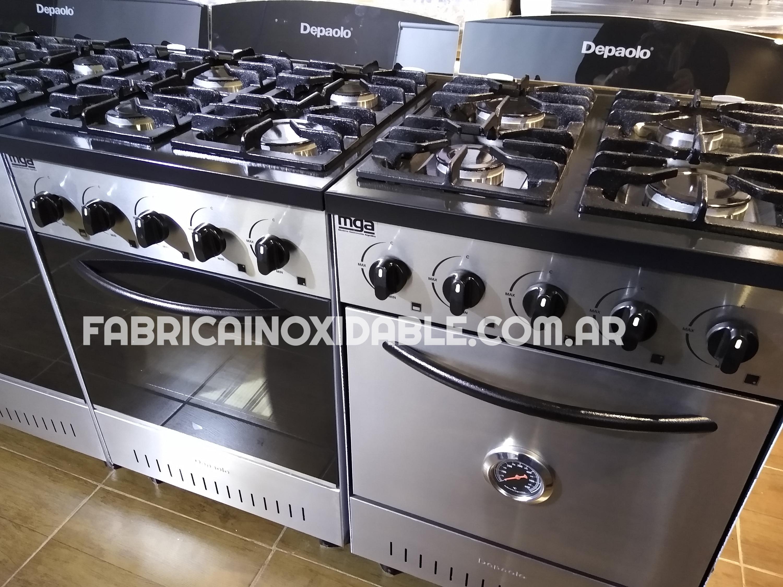 Fábrica de cocinas industriales Depaolo Mini 57 centimetros