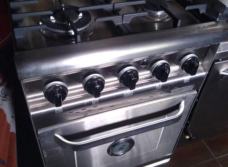 Oferta cocina industrial morelli outlet 55 cm Forza